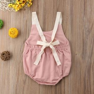 Other - Baby Girl Romper (Available in Pink Color Only)